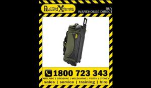 Rugged Xtremes Large Wheeled Transit Bag Forest Green