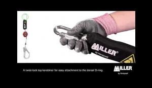 Miller TurboLite Edge Self Retracting Lifeline | Honeywell Safety