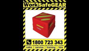 Portable Non-Slip Safety Step Stool High Visibility