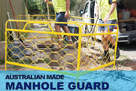 Telstra Barriers - Australian Made Manhole Guard - Pit Guards